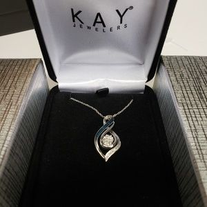 Kay Jeweler's sterling silver necklace